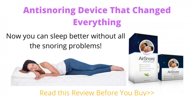 Antisnoring remedy