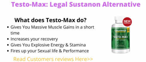 CrazyBulk Testo-Max Reviews – Is this the Best Testerone Booster Supplement?
