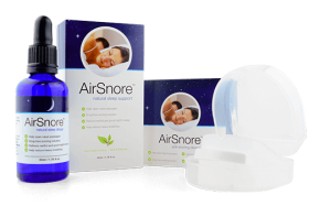 Airsnore drops and device